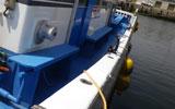 八千代丸の取り舵側釣座